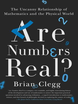 cover image of Are Numbers Real?