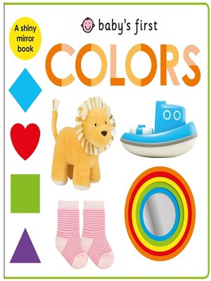 cover image of Baby's First Colors