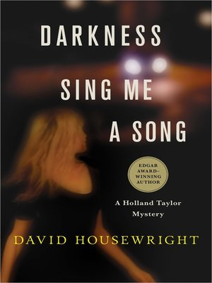 cover image of Darkness, Sing Me a Song