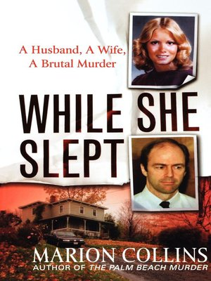cover image of While She Slept