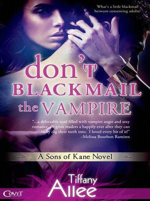 cover image of Don't Blackmail the Vampire