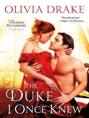 cover image of The Duke I Once Knew