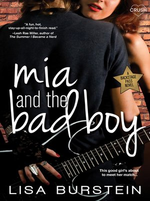 cover image of Mia and the Bad Boy