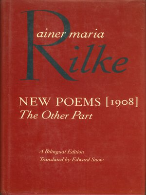 cover image of New Poems, 1908
