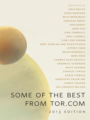 cover image of Some of the Best From Tor.com, 2013 Edition