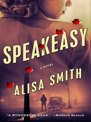 cover image of Speakeasy--A Novel