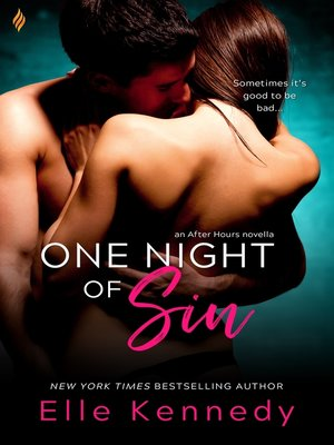 cover image of One Night of Sin