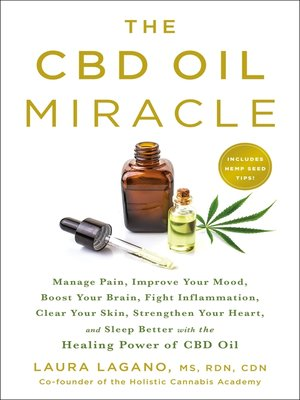 cover image of The CBD Oil Miracle