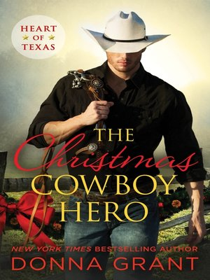 cover image of The Christmas Cowboy Hero