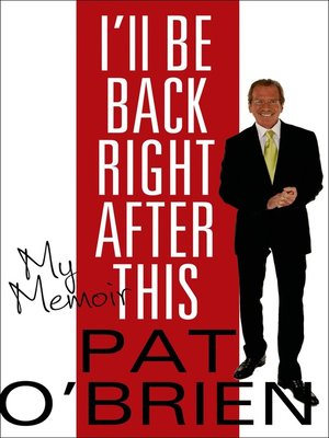 cover image of I'll Be Back Right After This