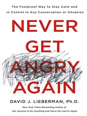 cover image of Never Get Angry Again