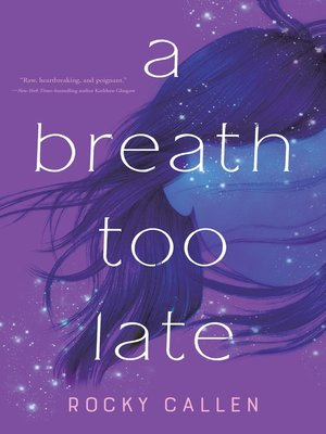 cover image of A Breath Too Late
