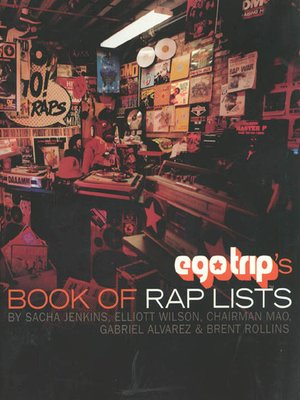 cover image of Ego Trip's Book of Rap Lists