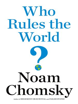 cover image of Who Rules the World?
