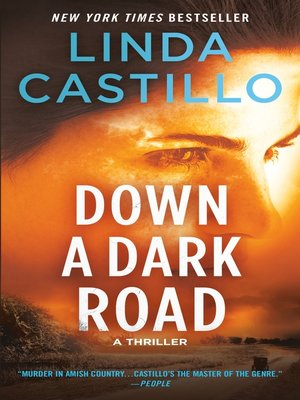 cover image of Down a Dark Road--A Kate Burkholder Novel