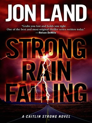 cover image of Strong Rain Falling--A Caitlin Strong Novel