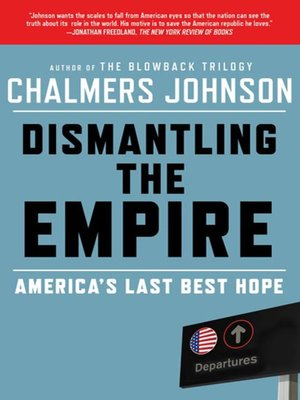 cover image of Dismantling the Empire