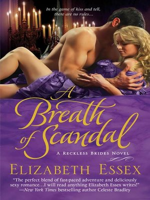 cover image of A Breath of Scandal