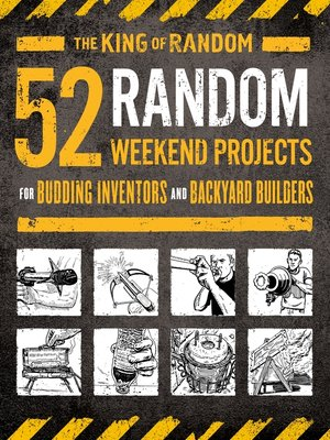 cover image of 52 Random Weekend Projects