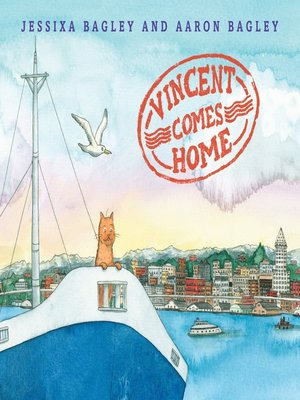 cover image of Vincent Comes Home