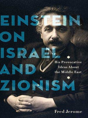 cover image of Einstein on Israel and Zionism