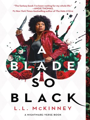 cover image of A Blade So Black