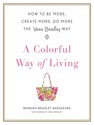 cover image of A Colorful Way of Living