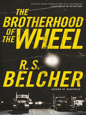 cover image of The Brotherhood of the Wheel--A Novel