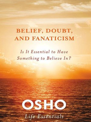cover image of Belief, Doubt, and Fanaticism