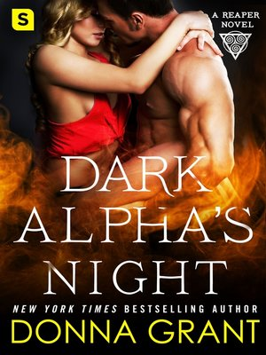 cover image of Dark Alpha's Night--A Reaper Novel