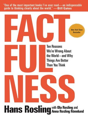 cover image of Factfulness