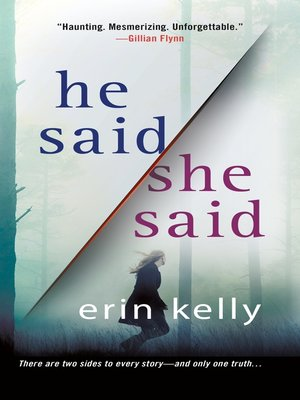 cover image of He Said/She Said