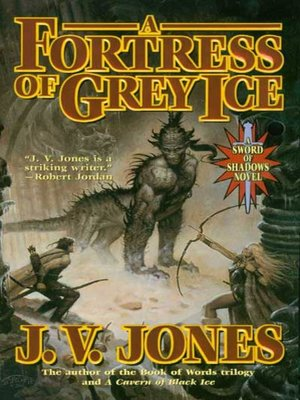 cover image of A Fortress of Grey Ice