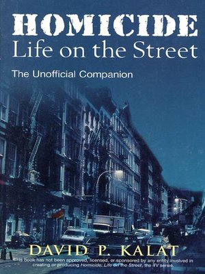cover image of Homicide: Life on the Streets