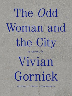 cover image of The Odd Woman and the City