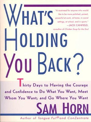 cover image of What's Holding You Back?