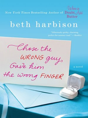 cover image of Chose the Wrong Guy, Gave Him the Wrong Finger