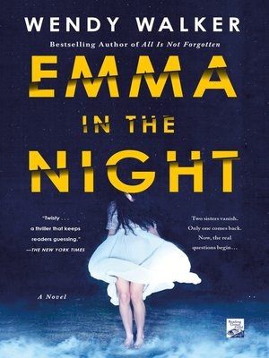 cover image of Emma in the Night
