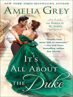 cover image of It's All About the Duke--The Rakes of St. James