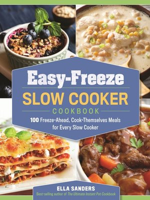 cover image of Easy-Freeze Slow Cooker Cookbook