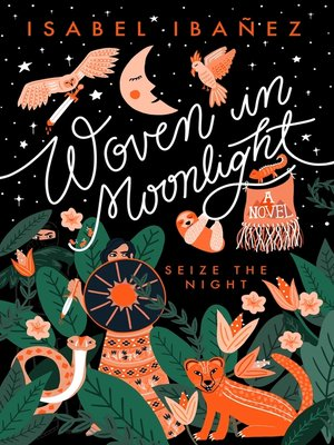 cover image of Woven in Moonlight