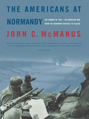 cover image of The Americans at Normandy