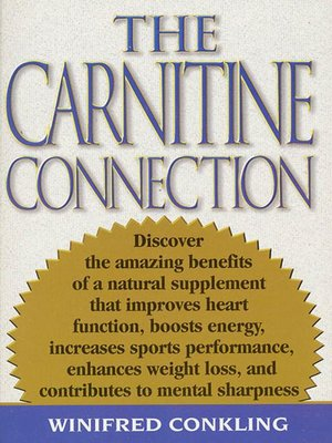 cover image of The Carnitine Connection
