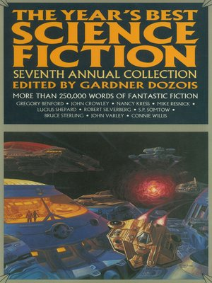 cover image of The Year's Best Science Fiction, Seventh Annual Collection