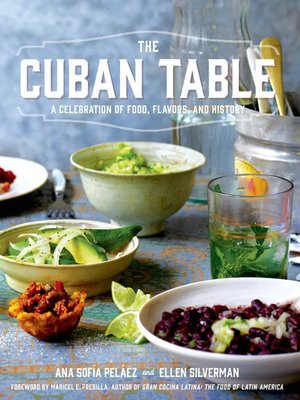 cover image of The Cuban Table