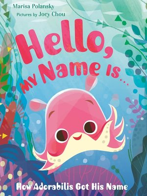 cover image of Hello, My Name Is . . .