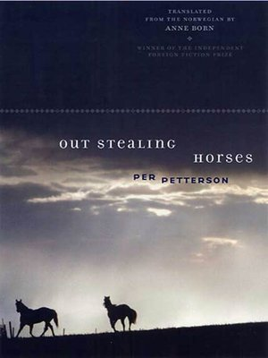 cover image of Out Stealing Horses