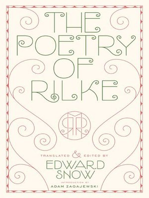 cover image of The Poetry of Rilke