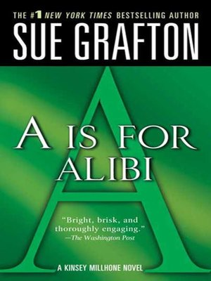 "cover image of ""A"" is for Alibi"