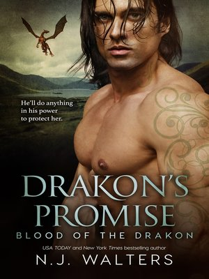 cover image of Drakon's Promise